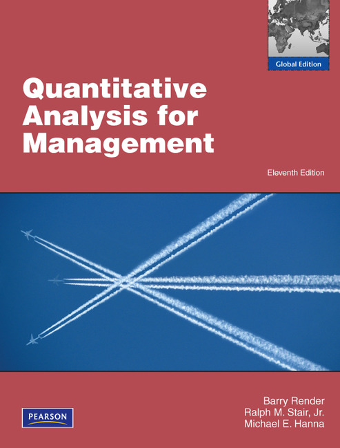 quantitative methods in business and management Students who major in management science and quantitative methods take classes that prepare them to play an essential role in business as.